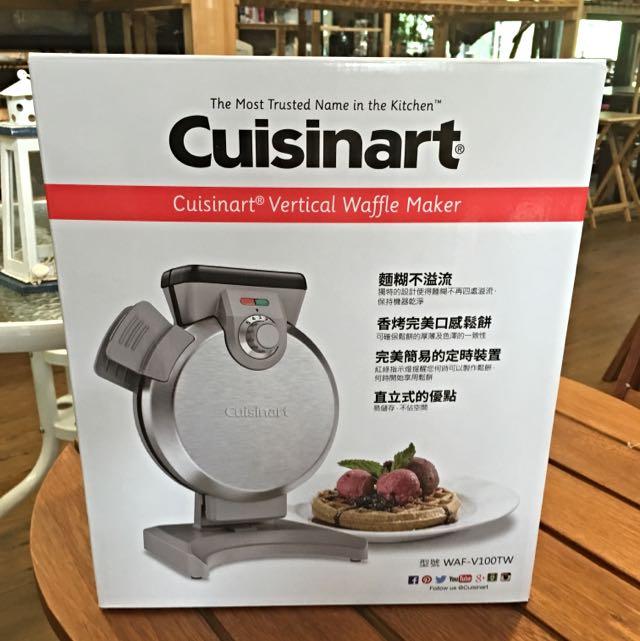 Cuisinart直立式鬆餅機