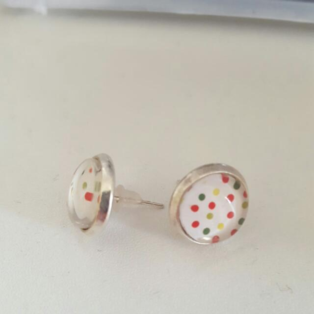 Cute Spotty Earrings