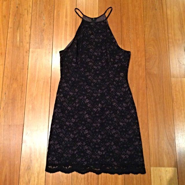 PRICE DROP David Pond Little Black Dress