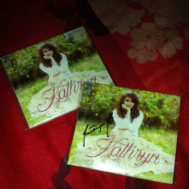 Debut album (Kathryn Chandria Manuel Bernardo)