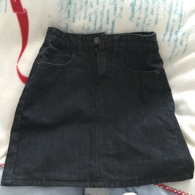 Denim Skirt Size 6-8