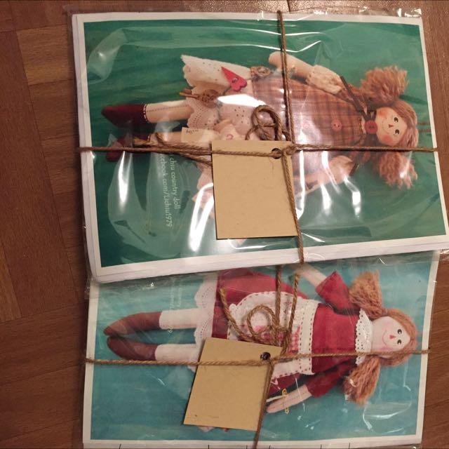 手縫DIY娃娃包