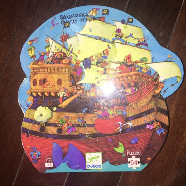 Djeco Pirate Ship Puzzle