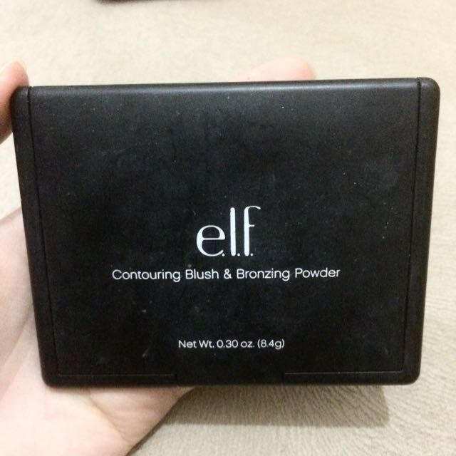 Elf Contouring Blush & Bronzing Powder Shade: St. Lucia