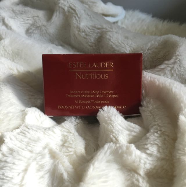 Estée Lauder Radiant Vitality 2 Step Treatment