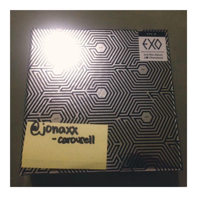 EXO-M Overdose Mini Album - RESERVED