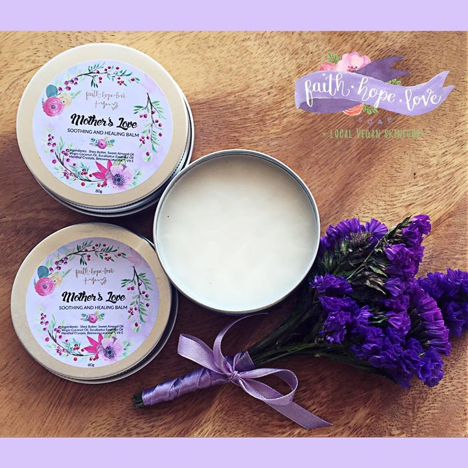 FaithHopeLove Local Vegan Skinfood Mother's Love Soothing and Healing Balm (50g)