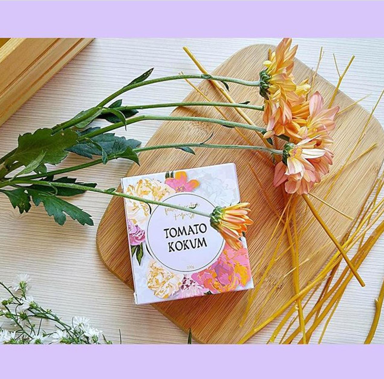 FaithHopeLove Local Vegan Skinfood Tomato Kokum pure glycerin soap