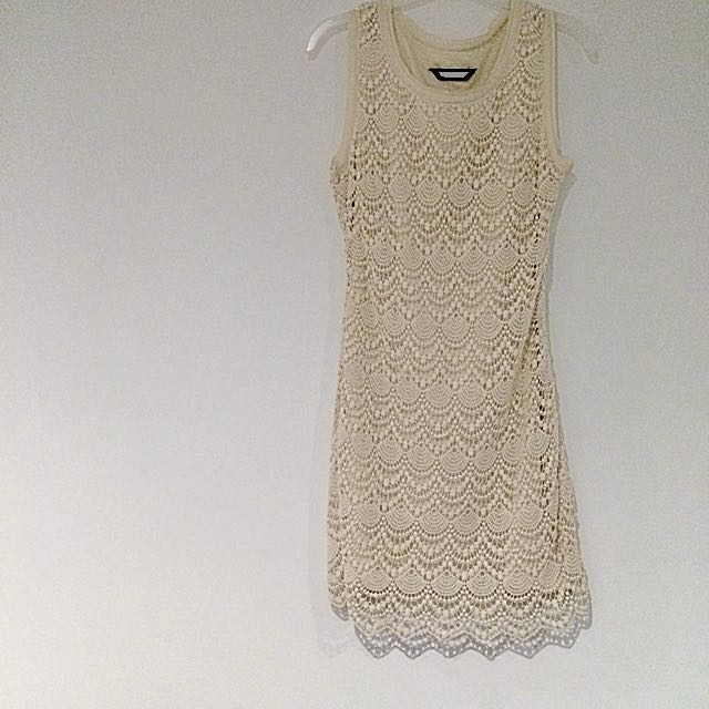 Fate Crochet Lace Dress