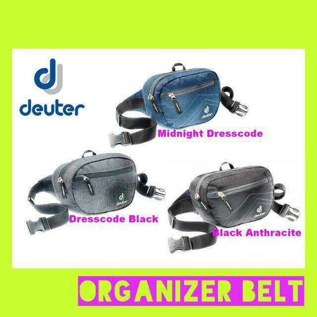 Deuter Organizer Belt Dresscode Black