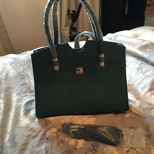 Forest Green Handbag New