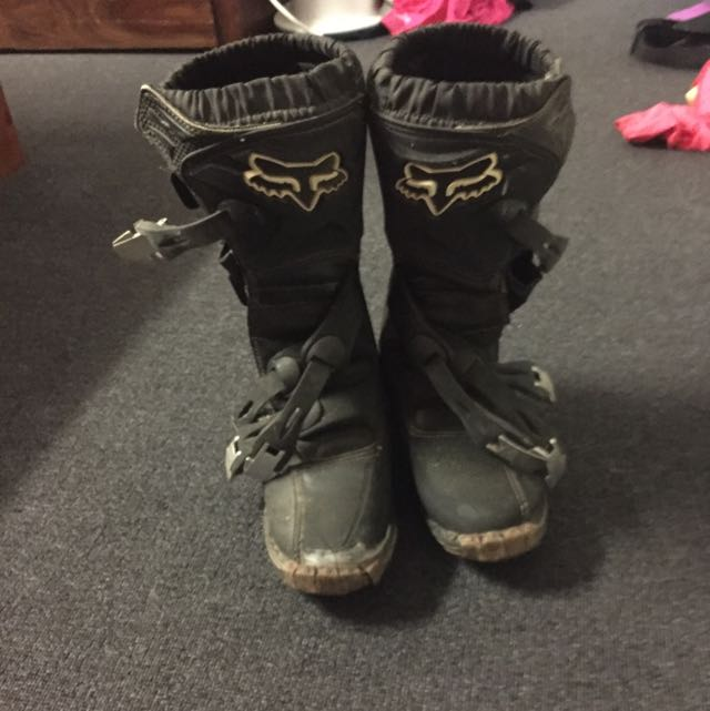 Fox Motorbike Boots.