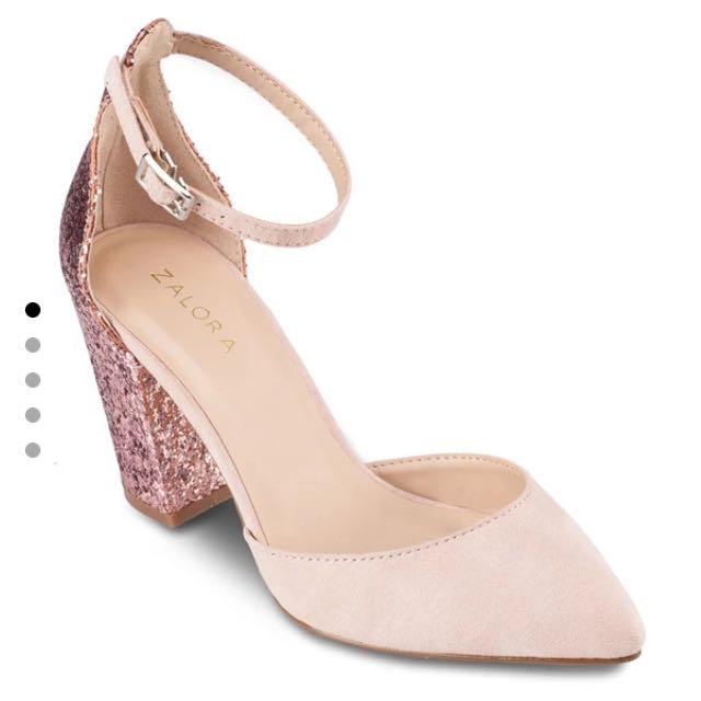 Glitter Pump Heels
