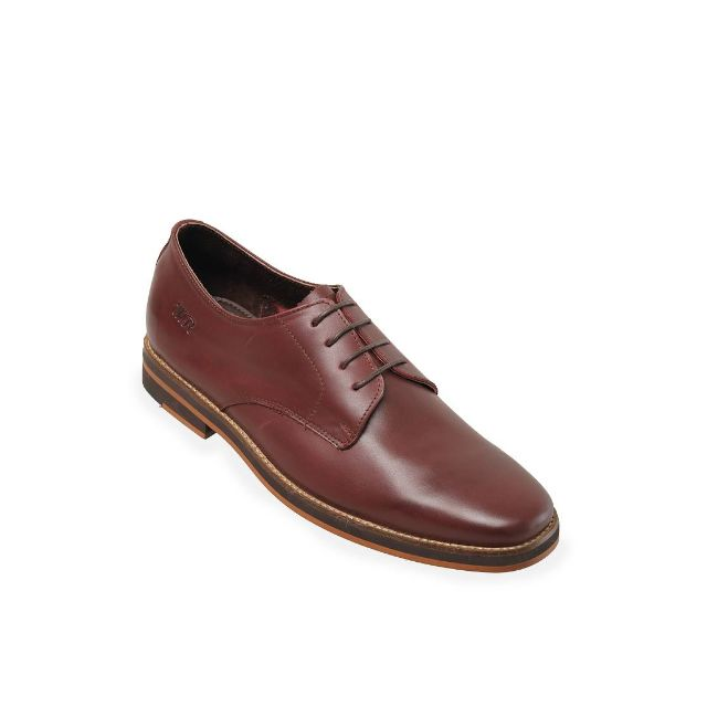 Grande Maroon Derby Shoes