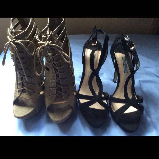 Heels Size 9 - Tony Bianco & Mooloola