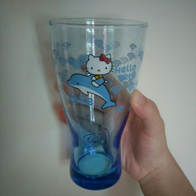 Hello Kitty 海豚 廣口瓶