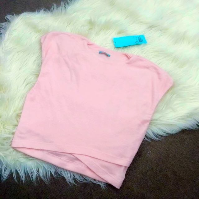 KOOKAI Baby Pink Cropped Top