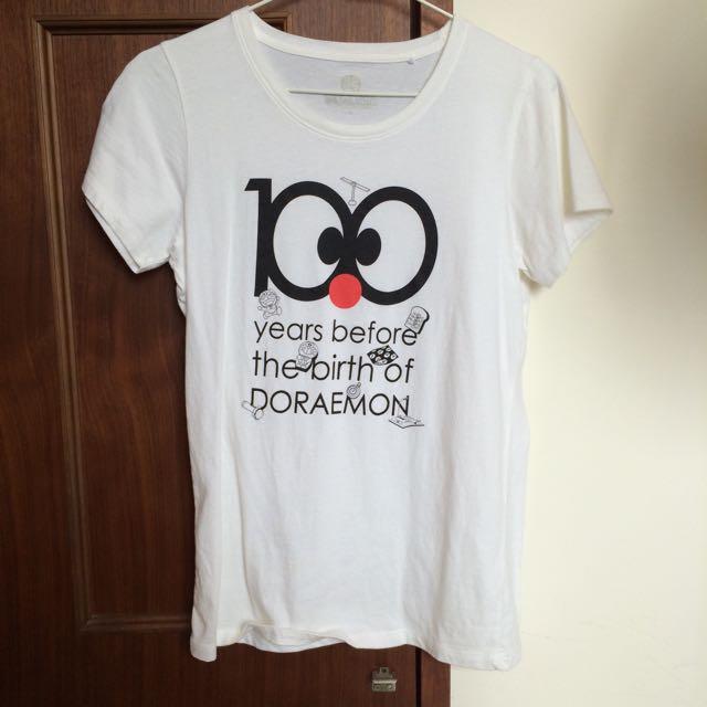 Lativ T恤 哆啦A夢 上衣
