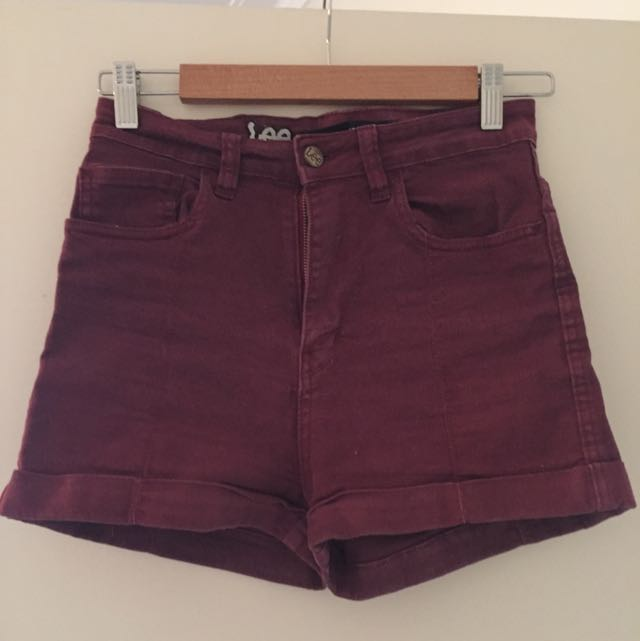 Lee Denim Shorts - Size 10