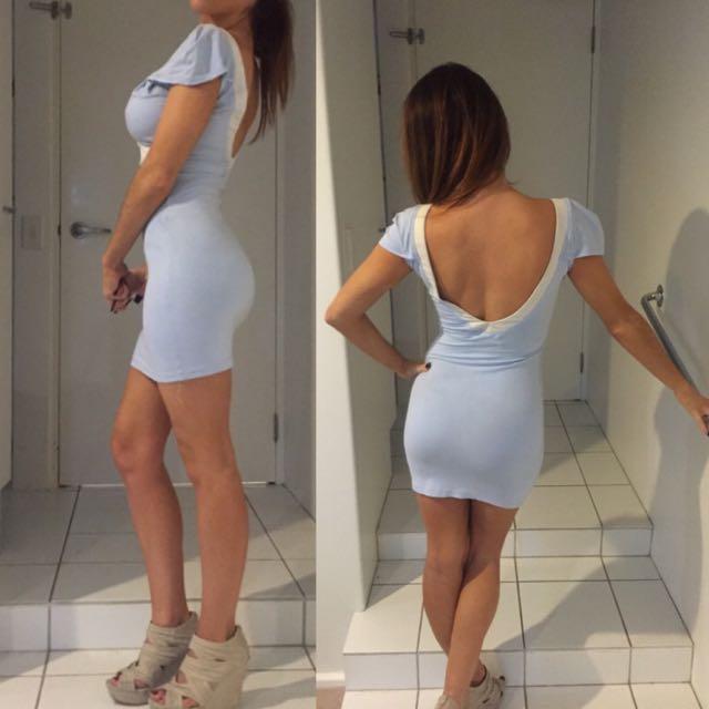 Light Blue IIkoy Dress
