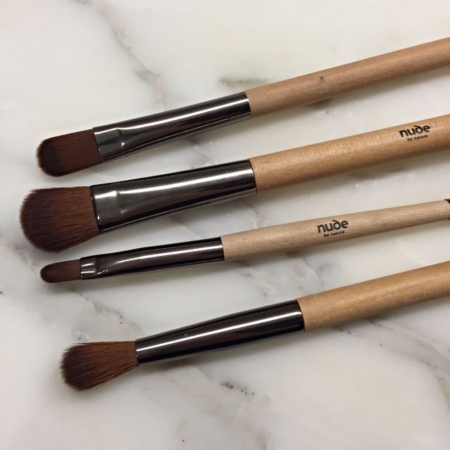 Makeup Eye Brush Set Nude By Nature