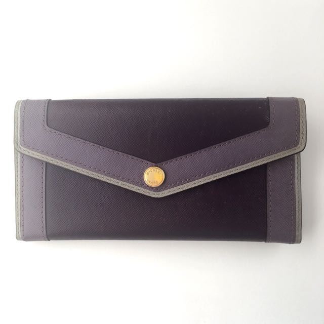 MICHAEL KORS Bi-fold Wallet Purse With Detachable Coin Pouch