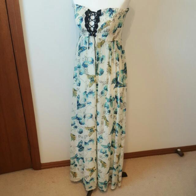 Mink Pink Strapless Dress Size 8