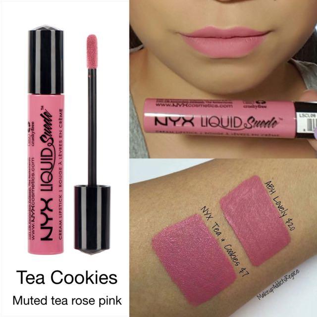 Nyx Professional Makeup Liquid Suede Cream Lipstick Tea