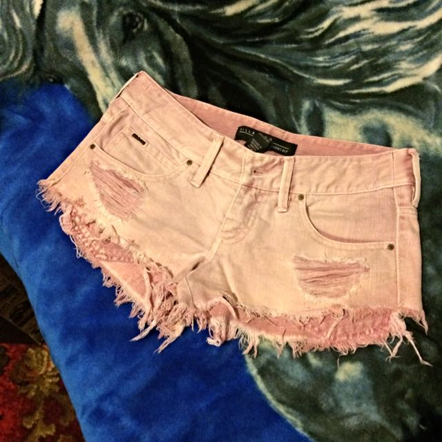 Pink Billabong Denim Shorts