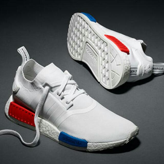 ba9b3c103fefc  PO  Adidas NMD R1 Red x White x Blue