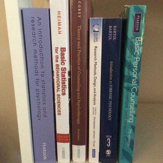 QUT Psychology Textbooks