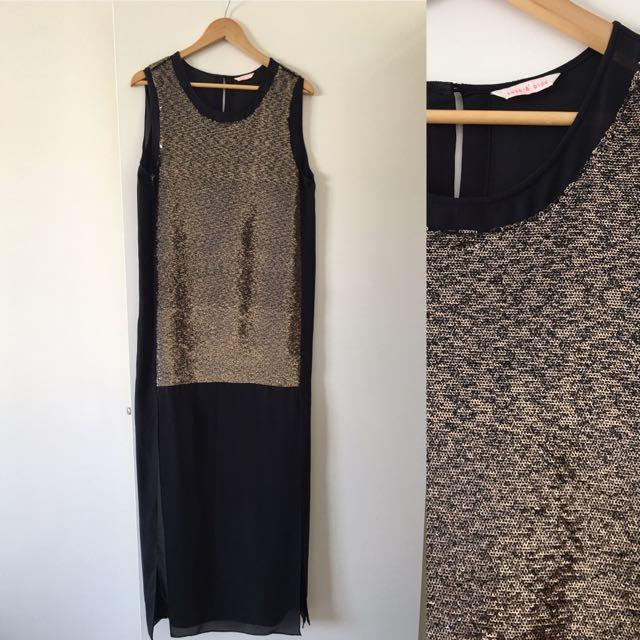 Sass & Bide Full Length Cocktail Dress