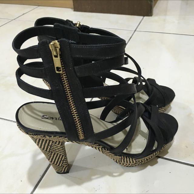 Sonia 編織涼鞋