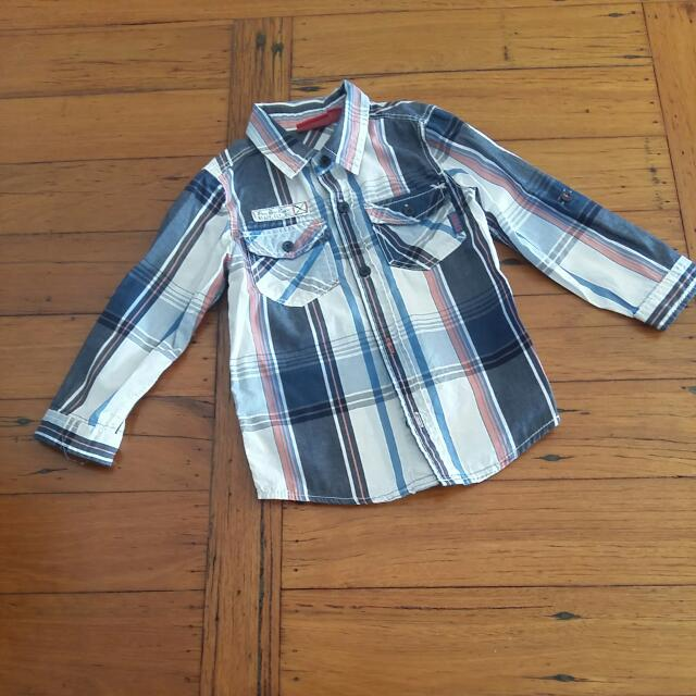 Sprout Boys Long Sleeved Shirt
