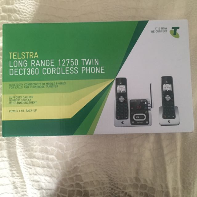 Telstra Long Range DECT360 Cordless Phone