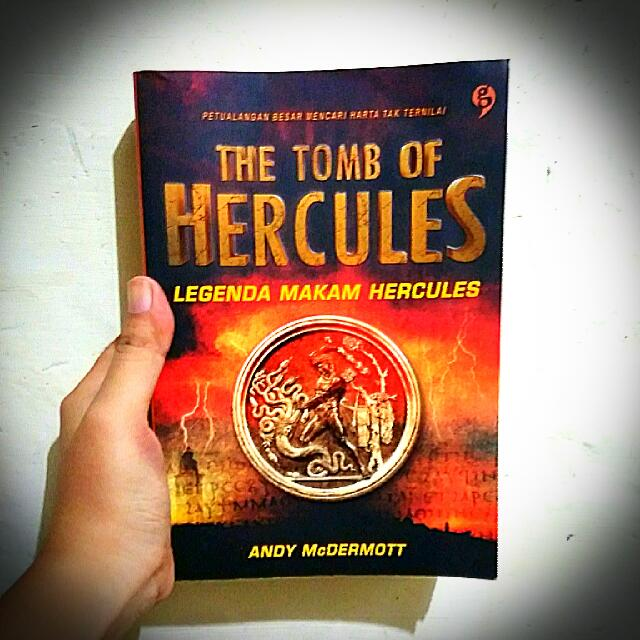 The Tomb of Hercules (Legenda Makam Hercules) - Andy McDermott