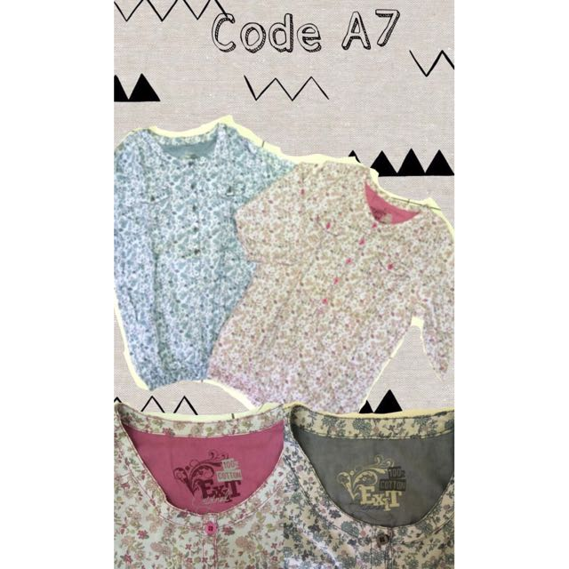 Twin Blouse A7