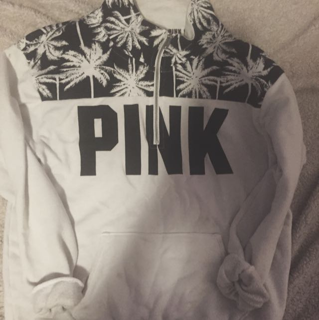 Victoria Secret, Pink Quarter Zip