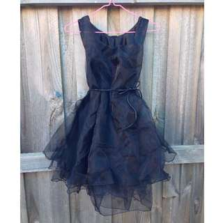 Little Black Dress (TuTu Style)