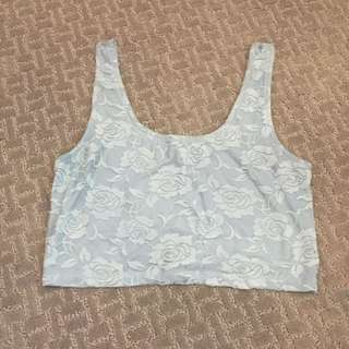 Lace Crop Top Tank