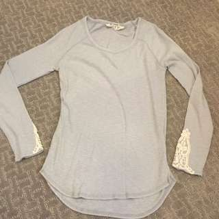 Long Sleeve W Lace