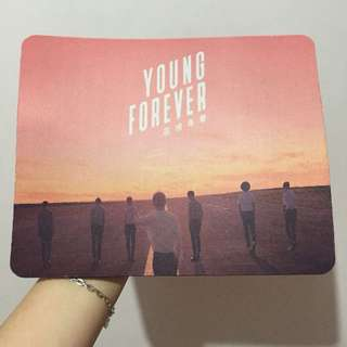Mousepad BTS Young Forever