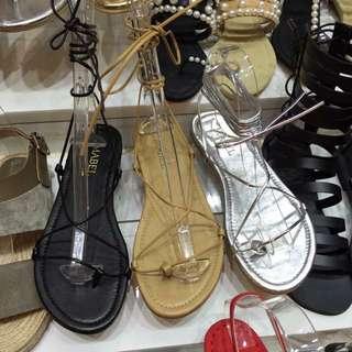 韓製綁帶涼鞋