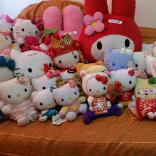 preloved hello kitty stuffed toys