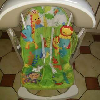 Baby Swing Fisher And Price Vibrates Plays Music And Swing