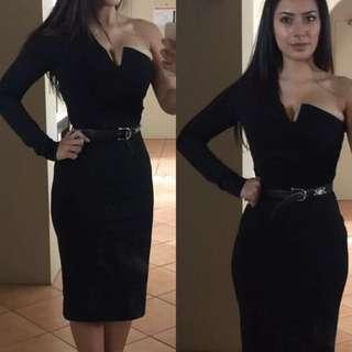 One Sleeved Dress