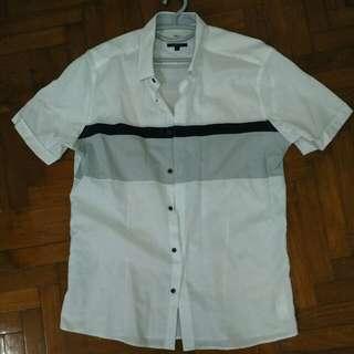 G2000 MAN White Short Sleeved Shirt
