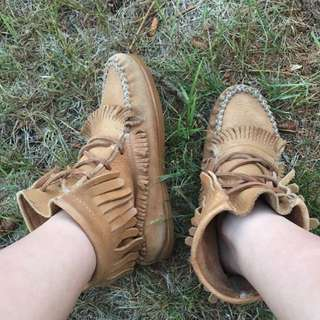 Real Leather Moccasins