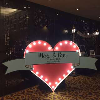 FOR RENT: 1.6m Heart Marquee