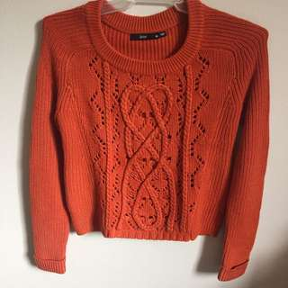 Orange Sportsgirl knit jumper